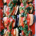 Whole30 Eggplant Rollups